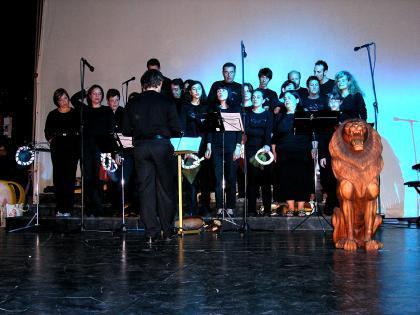backstage coro